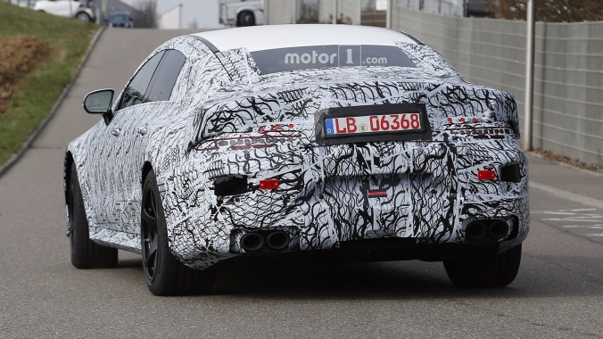 2019-mercedes-amg-gt-sedan-spy-photo-2