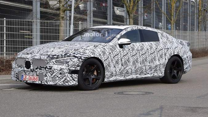 2019-mercedes-amg-gt-sedan-spy-photo