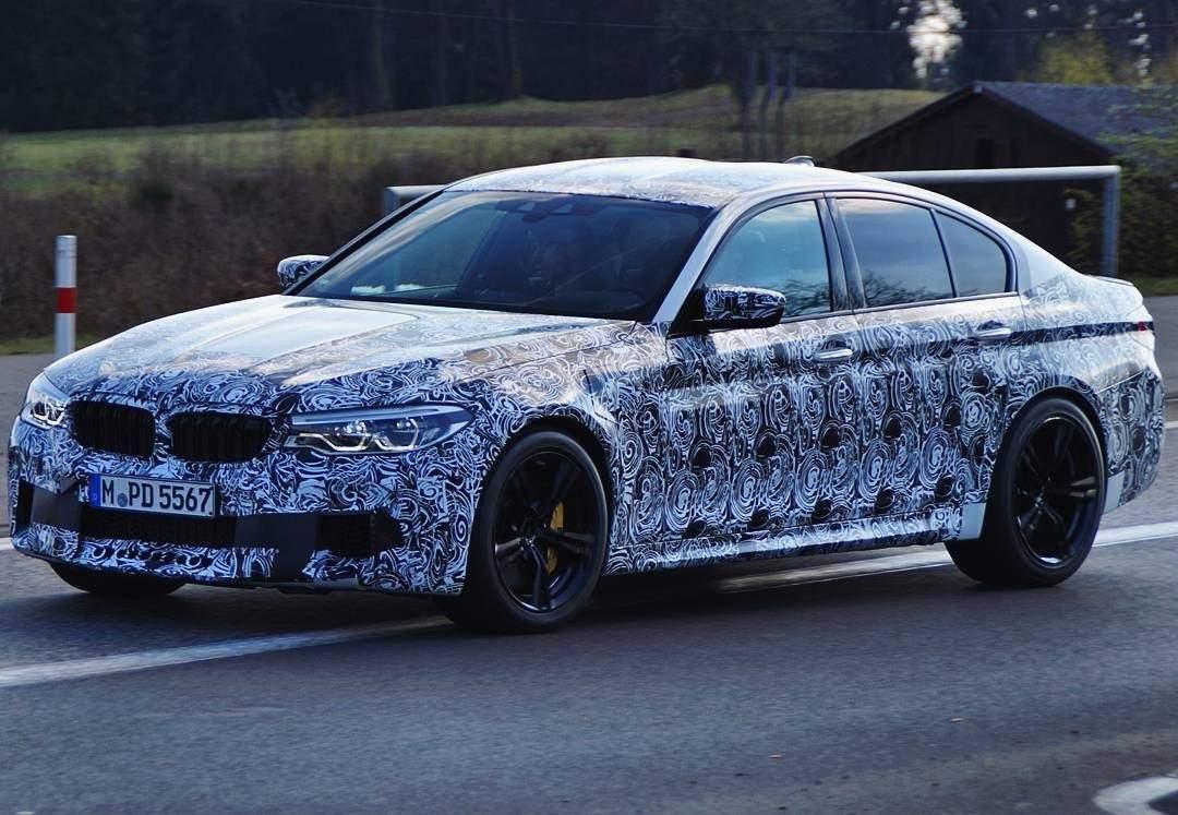 BMW-F90-M5-spied