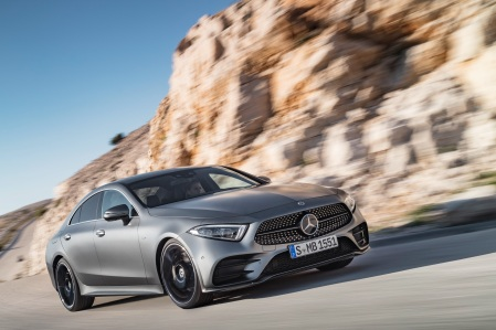 Mercedes-Benz CLS, 2017, Edition 1, designo selenitgrau magno, Leder Nappa Schwarz Mercedes-Benz CLS, 2017, Edition 1, designo selenite grey magno, black nappa leather